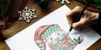disegni di Natale facili da disegnare