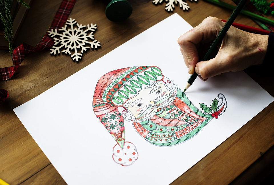 Disegni Di Natale Semplici.5 Disegni Di Natale Facili Da Disegnare Portale Bimbo